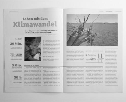 Jahresbericht Editorial Design innen