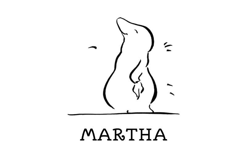 GfK-Kinderbuch, Illustration und Lettering: glückliche Martha