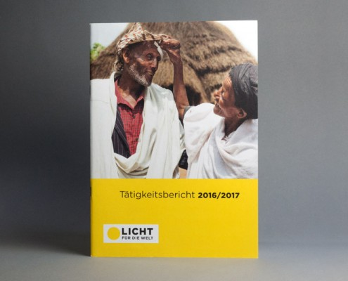 Cover des Jahresberichts